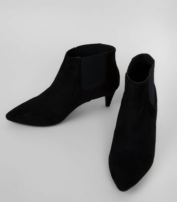 wide-fit-black-suedette-kitten-heel-chelsea-boots
