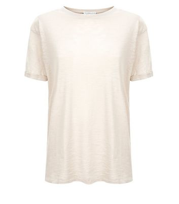 Mink Organic Cotton Short Sleeve T-Shirt New Look