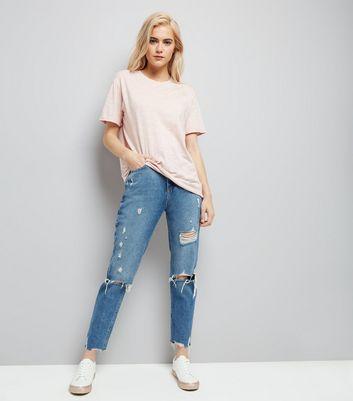 Pink Organic Cotton Short Sleeve T-Shirt New Look