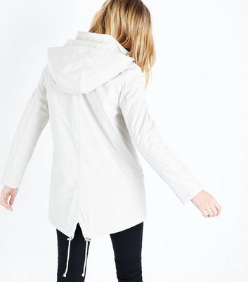 Stone Quilt Lined Anorak New Look