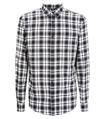 Black And White Check Shirt New Look