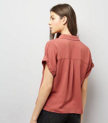 Orange Short Sleeve Shirt New Look