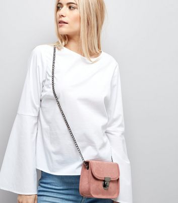 Pink Micro Cross Body Bag New Look