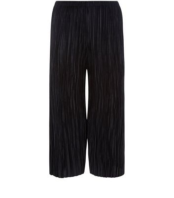 Teens Black Pleated Trousers New Look