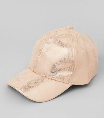 Bronze Metallic Cap New Look