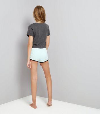 Teens Grey Wake Me Up For Breakfast Pyjama Set New Look