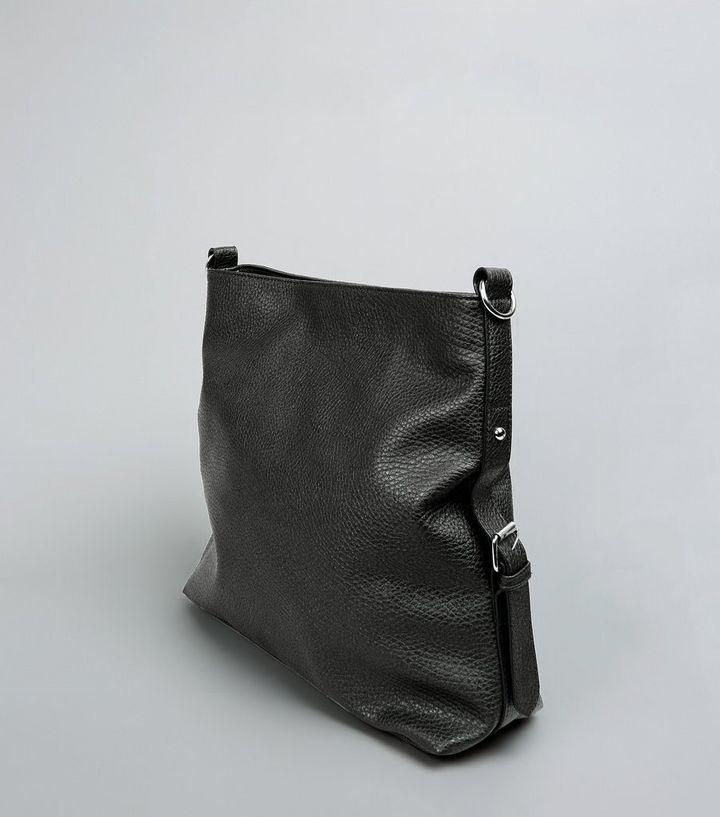 82c140c1f5 ... Black Textured Oversized Shoulder Bag. ×. ×. ×. Shop the look