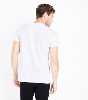 White Cotton Short Sleeve T-Shirt New Look