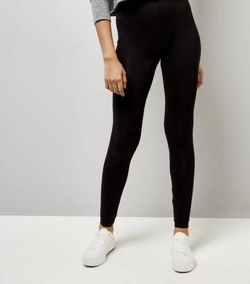 Black Ankle Length Leggings New Look