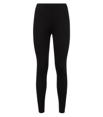 2 Pack Black Viscose Blend Leggings New Look