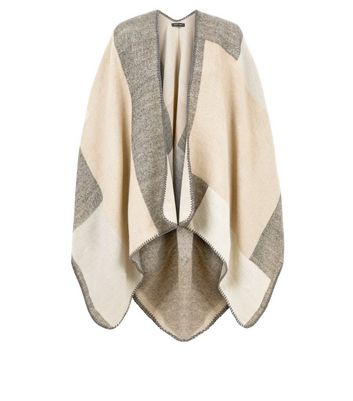 Mink Geometric Print Wrap New Look