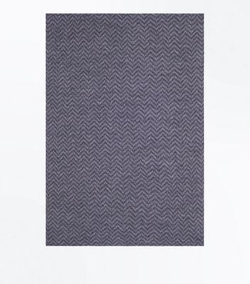 Grey Herringbone Knit Scarf New Look