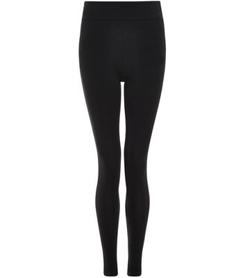Tall Black High Waist Leggings