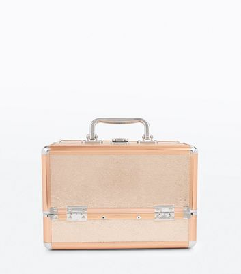 Rose Gold Vanity Case New Look