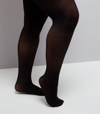 Curves Black 50 Denier Tights New Look
