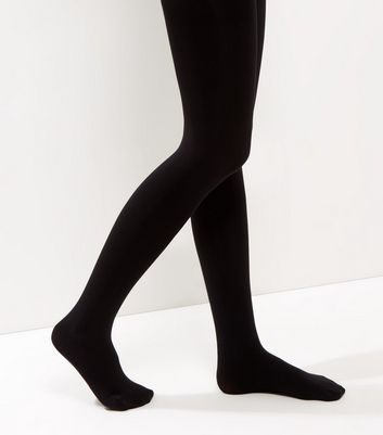 Black 100 Denier Luxury Shaping Tights New Look