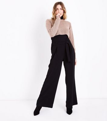 Shell Pink Cropped Jumper New Look