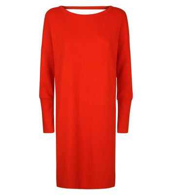 Noisy May Red Bar Back Dress New Look