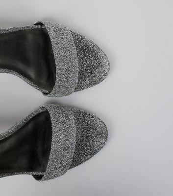 silver-glitter-cone-heel-sandals