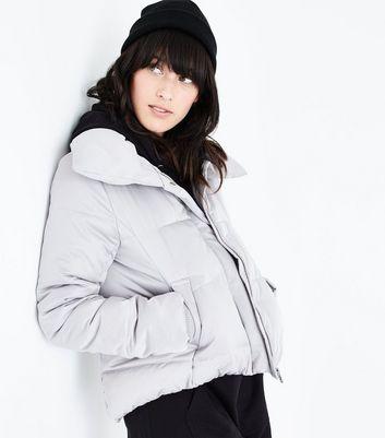 veste doudoune courte femme new look