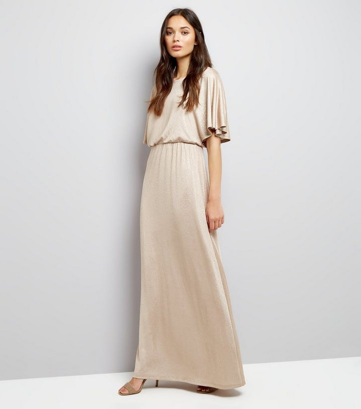 Mela Gold Kimono Sleeve Maxi Dress Add To Saved Items Remove From Saved Items