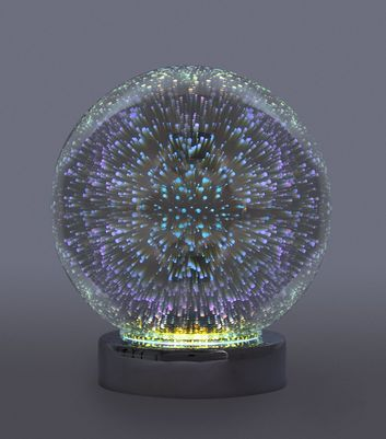Multicoloured Constellation Light Globe New Look