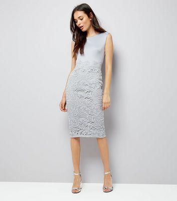 ax-paris-grey-lace-skirt-midi-dress