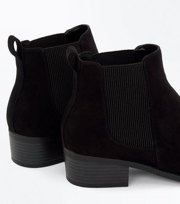 Teens Black Chelsea Boots New Look