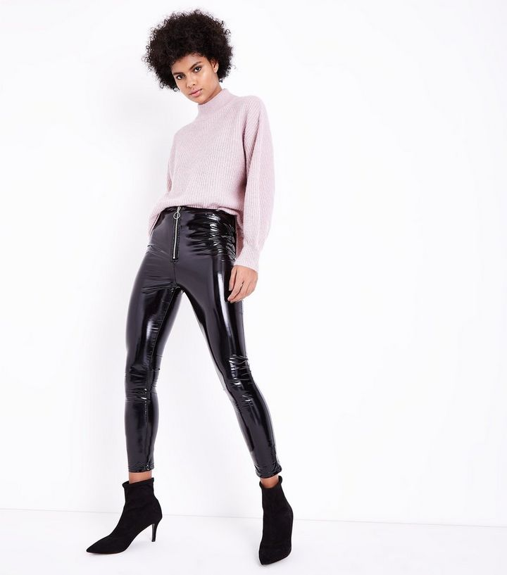 better price for buy online order Parisian Black Leather-Look Skinny Trousers Add to Saved Items Remove from  Saved Items