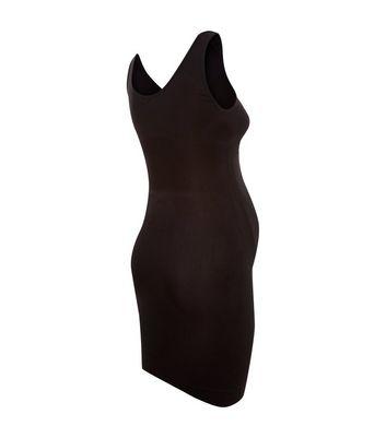 Maternity Black Seamless Slip Dress New Look