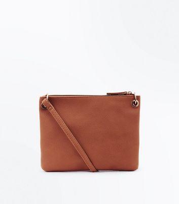 Tan Ring Side Cross Body Bag New Look