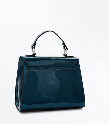 Mini Bandoulière Bleu Look VerniNew Sac lFKc1J