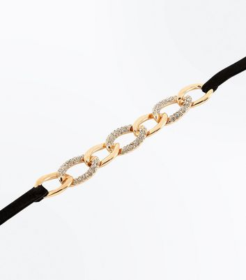 gold-embellished-chain-choker