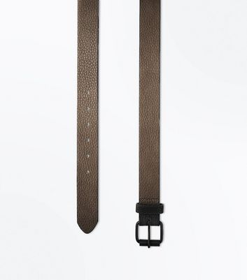Nude Tapered Belt New Look
