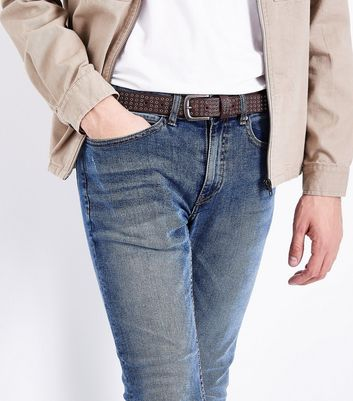 Brown Jeans Belt New Look