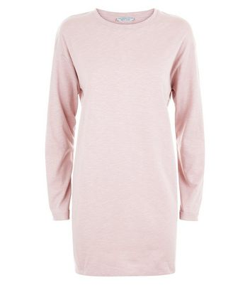 Pink Organic Cotton Tunic Top New Look