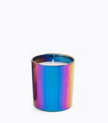 Multi-Coloured Sloe Gin Scented Candle New Look