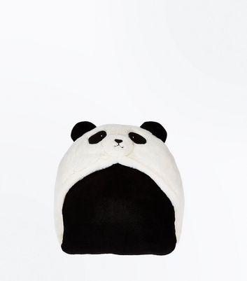 White Panda Blanket New Look