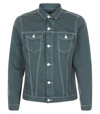 Dark Blue Denim Jacket New Look