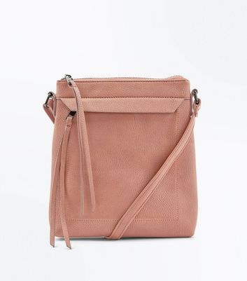 Tan Cross Body Bag New Look