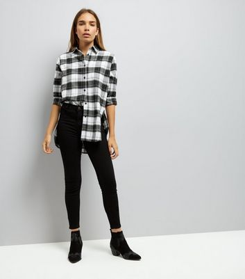Parisian Black Check Shirt New Look