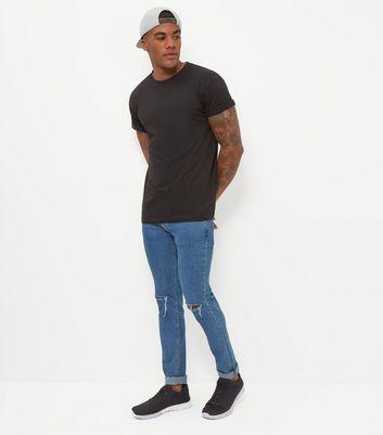 Black Crew Neck T-Shirt New Look