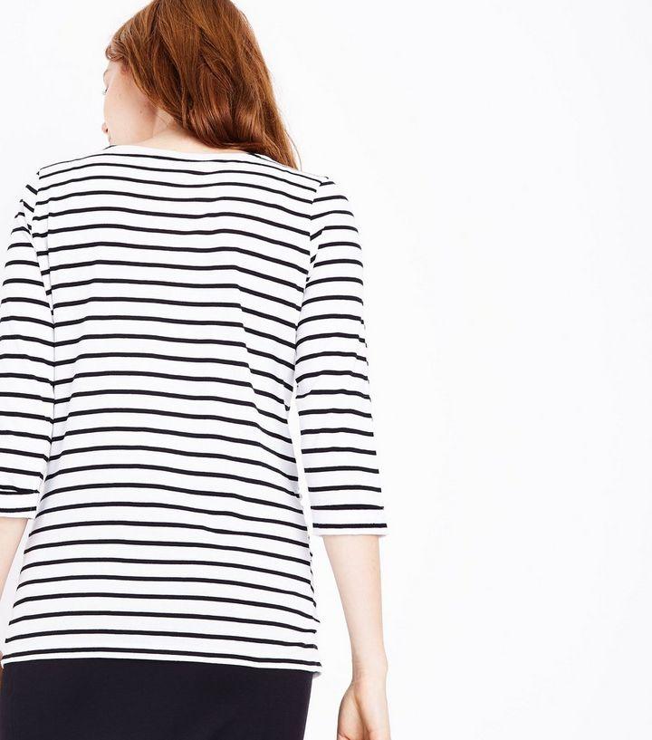 e01c1a7b61 Home · Maternity Black Stripe 3 4 Sleeve T-Shirt. ×. ×. ×. Shop the look