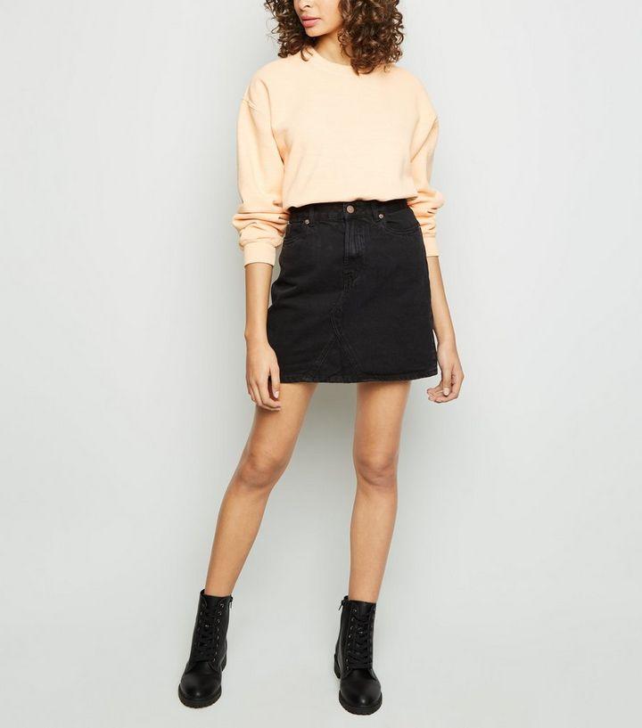 f718c6bb42 ... Womens Clothing · Skirts · Black Denim Mini Skirt. ×. ×. ×. Shop the  look