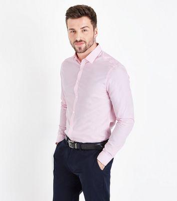Pink Poplin Long Sleeve Shirt by New Look