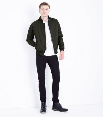 Khaki Harrington Jacket New Look