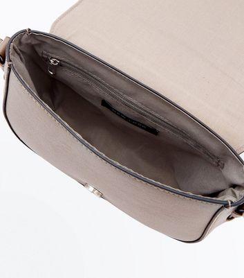 Mink Western Belt Front Saddle Bag New Look