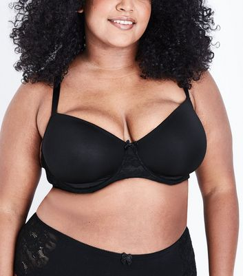 Curves 2 Pack Black and White Bra
