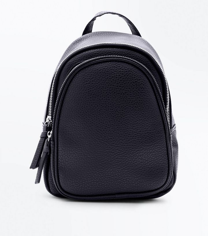 shop newest style of pretty nice Black Double Zip Around Mini Backpack Add to Saved Items Remove from Saved  Items
