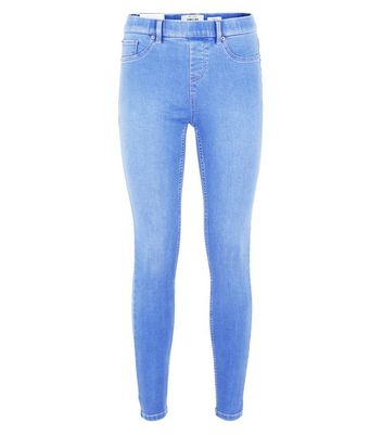 Bright Blue Emilee Jeggings New Look